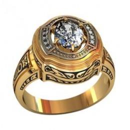 Мужское авторское кольцо 001520