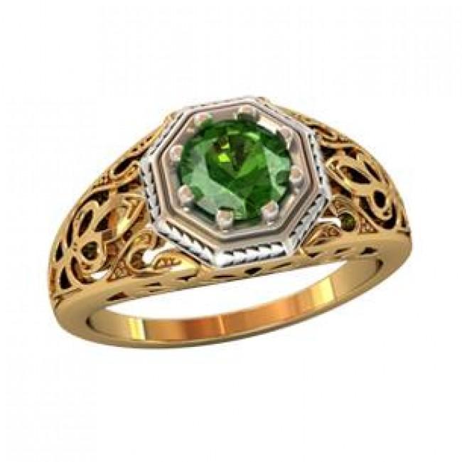 Мужское авторское кольцо 001560