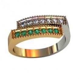 Мужское авторское кольцо 001570