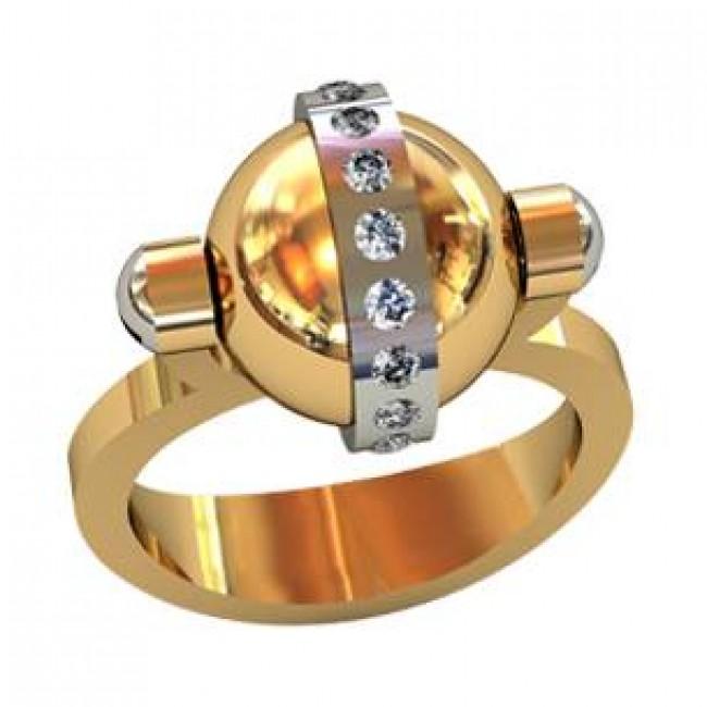 Мужское авторское кольцо 001590