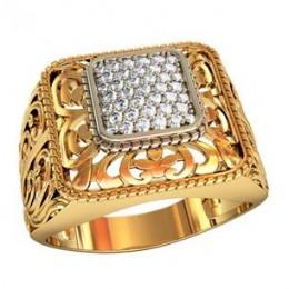 Мужское авторское кольцо 002120