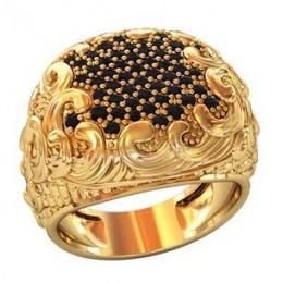 Мужское авторское кольцо 002130