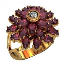 Женский перстень 210110
