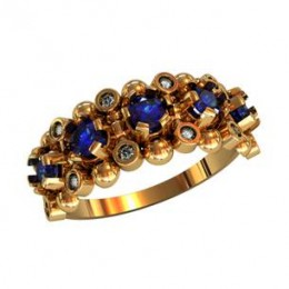 Женское кольцо 210330