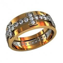 Женское кольцо 210410