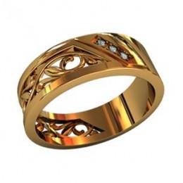 Женское кольцо 210510
