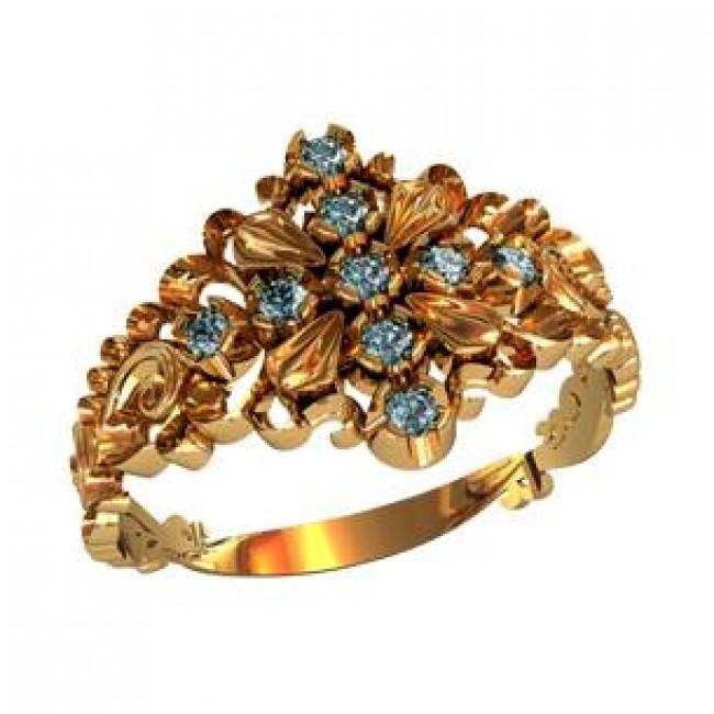 Женское кольцо 110050