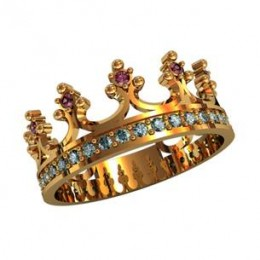 Кольцо корона 210010
