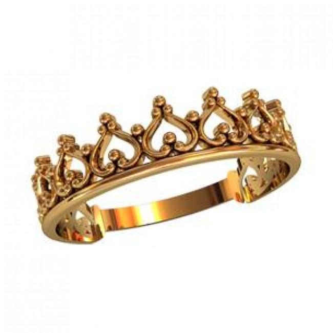 Кольцо корона 210350