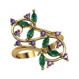 Женское кольцо 2287