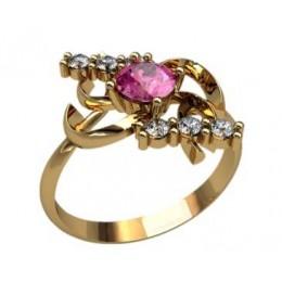 Женское кольцо 2294