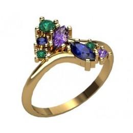 Женское кольцо 2298