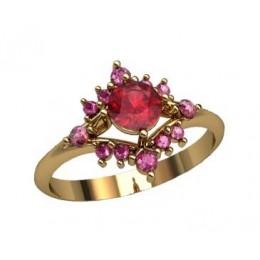 Женское кольцо 2307