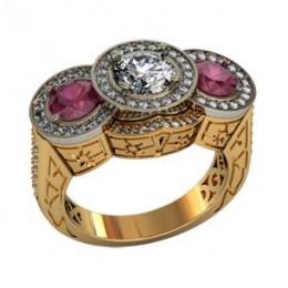 Женский перстень 001750