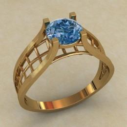 Женское кольцо КЕ-622