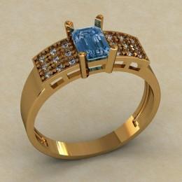 Женское кольцо КЕ-623
