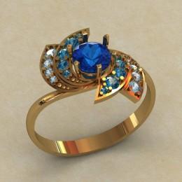 Женское кольцо КЕ-625