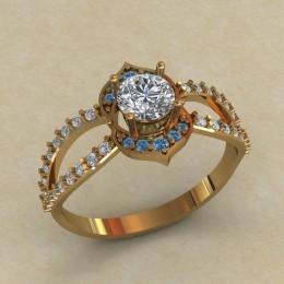 Женское кольцо КЕ-626