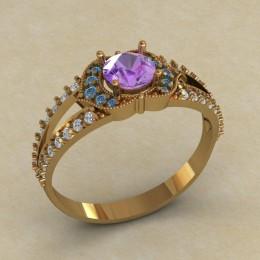 Женское кольцо КЕ-627