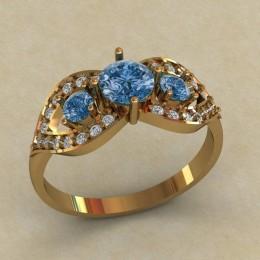 Женское кольцо КЕ-628