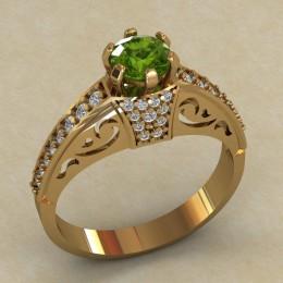 Женское кольцо КЕ-630