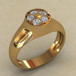 Женское кольцо КЕ-635