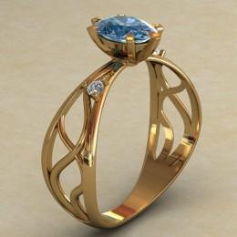Женское кольцо КЕ-639