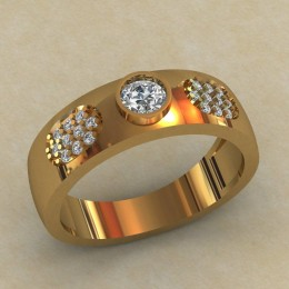 Мужское кольцо КМ-641