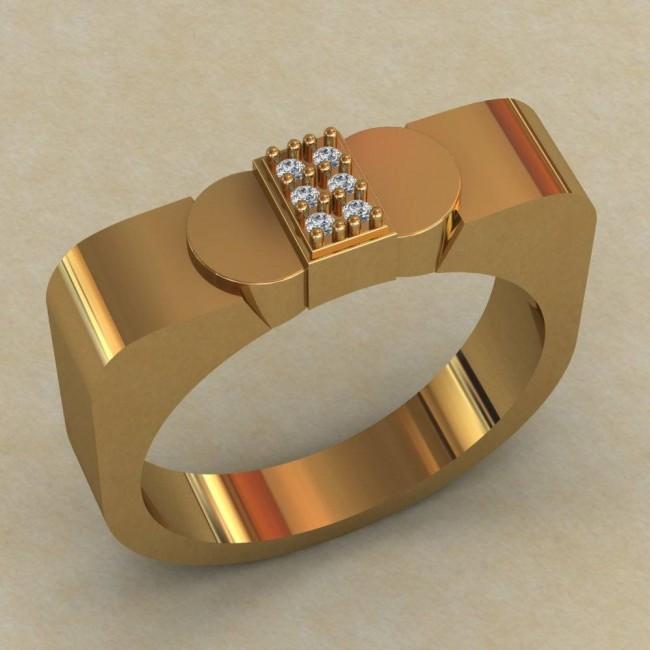 Мужское кольцо КМ-642