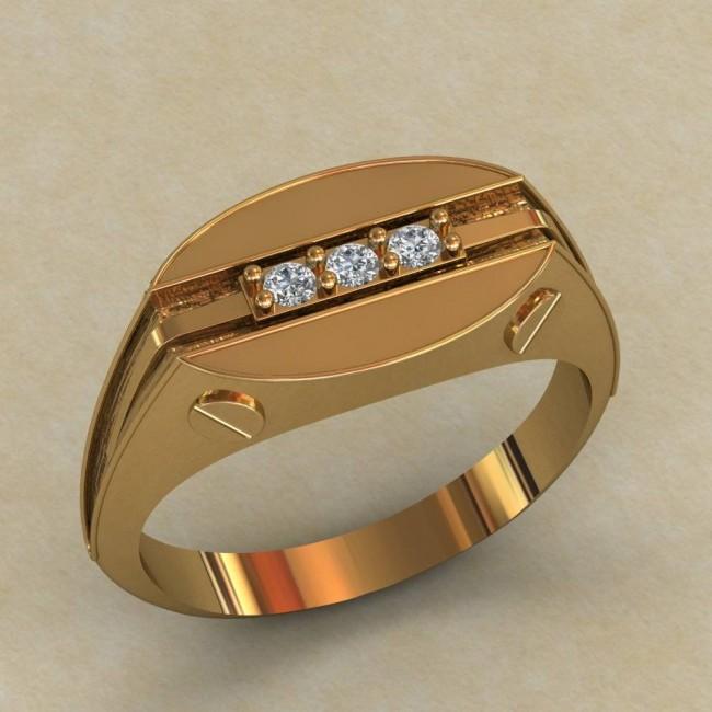 Мужское кольцо КМ-643