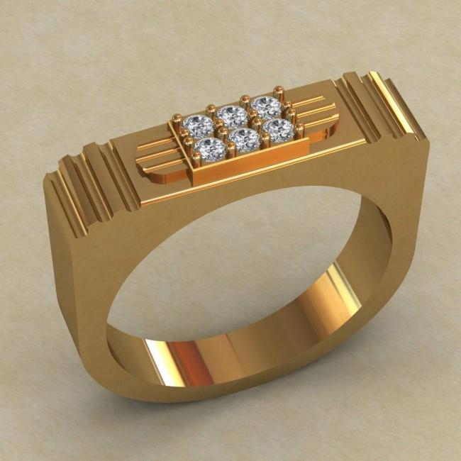 Мужское кольцо КМ-645