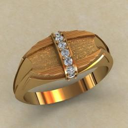 Мужское кольцо КМ-646