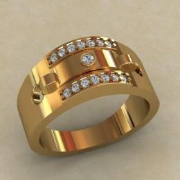 Мужское кольцо КМ-648