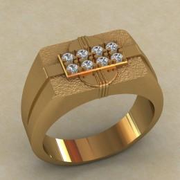 Мужское кольцо КМ-649