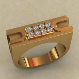 Мужское кольцо КМ-650