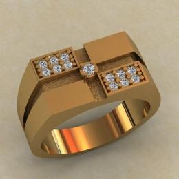 Мужское кольцо КМ-651