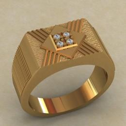 Мужское кольцо КМ-652
