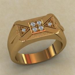 Мужское кольцо КМ-653