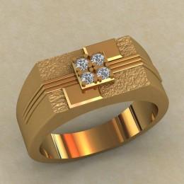 Мужское кольцо КМ-654