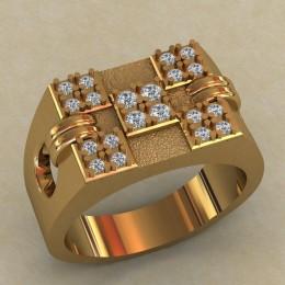 Мужское кольцо КМ-655