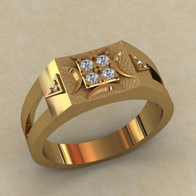 Мужское кольцо КМ-658