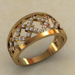 Женское кольцо КЕ-741