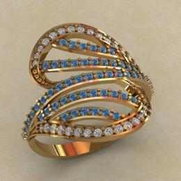 Женское кольцо КЕ-742