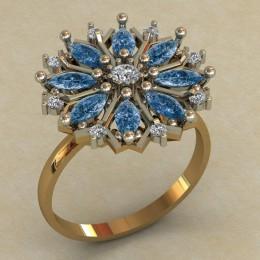 Женское кольцо КЕ-744