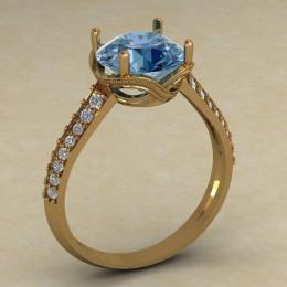 Женское кольцо КЕ-747