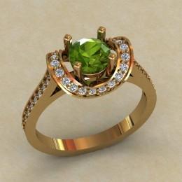 Женское кольцо КЕ-748