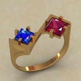 Женское кольцо КЕ-749