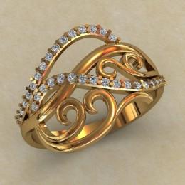Женское кольцо КЕ-750