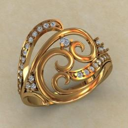 Женское кольцо КЕ-753