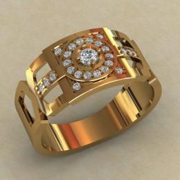 Мужское кольцо КМ-810